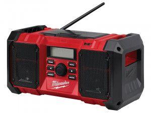 Milwaukee M18 JSRDAB-0 DAB Digital Jobsite Radio 18V Bare Unit