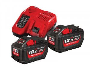 Milwaukee M18 HNRG Battery Twin Pack 18V 12.0Ah