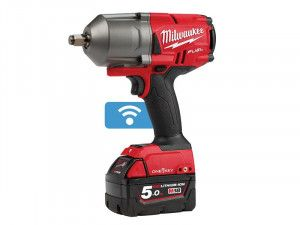 Milwaukee M18 ONEFHIWF12-502X FUEL™ ONE-KEY™ 1/2in Impact Wrench 18V 2 x 5.0Ah Li-ion