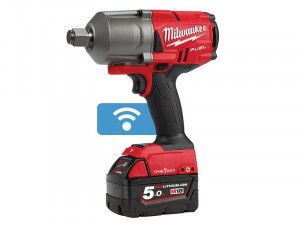 Milwaukee M18 ONEFHIWF34-502X FUEL™ ONE-KEY™ 3/4in Impact Wrench 18V 2 x 5.0Ah Li-ion