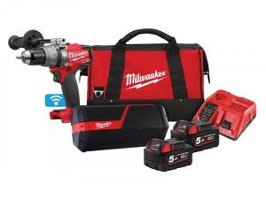 Milwaukee M18 ONEPP2I-502B FUEL™ ONE-KEY™ Twin Pack 18V 2 x 5.0Ah Li-ion