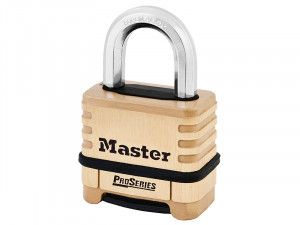 Master Lock ProSeries Brass 4 Digit Padlock 57mm