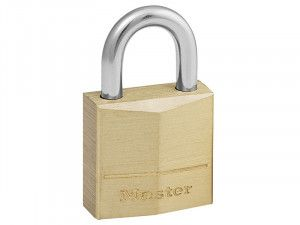 Master Lock, Solid Brass Padlocks Single Lever