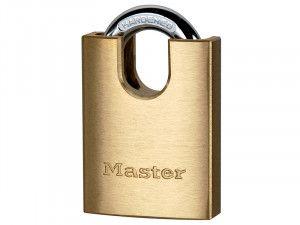Master Lock, Solid Brass Padlocks Shrouded Shackles
