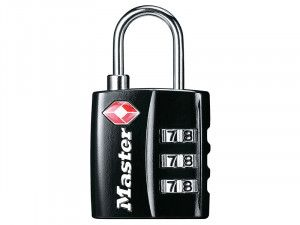 Master Lock, TSA 3 Digit Combination Padlocks