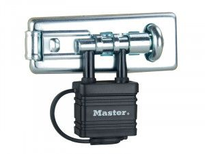 Master Lock Bolt Hasp with Integrated Lock 110mm