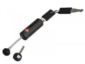 Master Lock TSA Removable Shackle Streamline Padlock