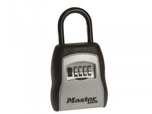Master Lock 5400E Portable Shackled Combination Key Lock Box (Up To 3 Keys)