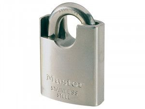 Master Lock Marine 50mm Padlock Shrouded Shackle