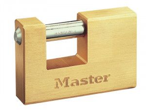 Master Lock, Rectangular Solid Brass Body Shutter Padlocks