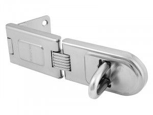 Master Lock, Wrought Steel Single Hinged Hasps