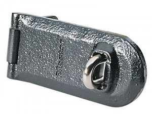 Master Lock, High Security Solid Iron Hasps