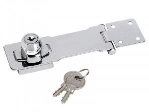Master Lock Chrome Plated Steel Locking Hasp 117mm