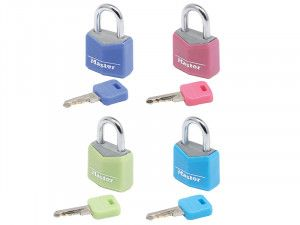 Master Lock, Aluminium Coloured Vinyl Cover Padlock