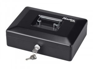 Master Lock Small Cash Box with Keyed Lock