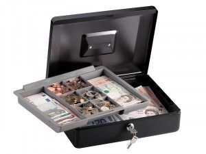 Master Lock Medium Cash Box with Keyed Lock