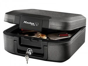 Master Lock Medium Key Locking Fire & Water Chest