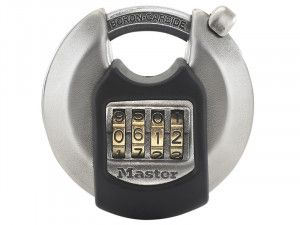 Master Lock Excell™ Discus 4-Digit Combination 70mm Padlock