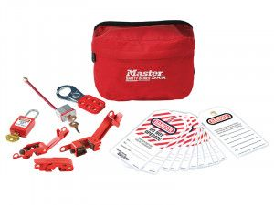 Master Lock Electrical Lockout Pouch Kit 7-Piece