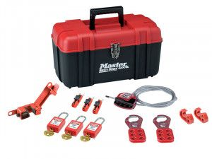Master Lock Lockout Toolbox Electrical Kit 12-Piece