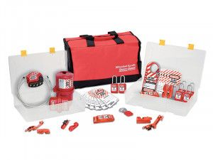 Master Lock Lockout / Tagout Electrical Group 23-Piece Kit with S31 Padlocks