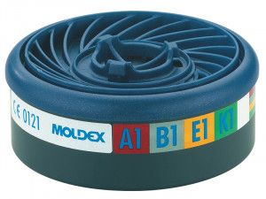 Moldex EasyLock® ABEK1 Gas Filter Cartridge (Wrap of 2)
