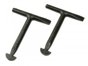 Monument 1010L Manhole Keys (Pack of 2) 125mm (5in)