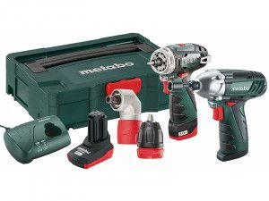 Metabo PowerMaxx Twin Pack 10.8V 1 x 2.0Ah & 1 x 4.0Ah Li-Ion