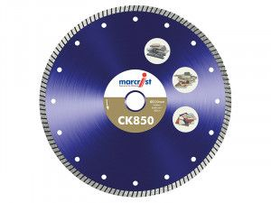 Marcrist, CK850 Tile Cutting Blades Natural Diamond - Fast Cut