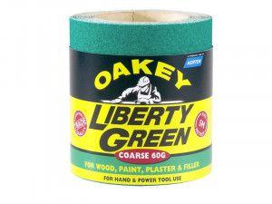Oakey, Liberty Green Aluminium Oxide Paper Rolls