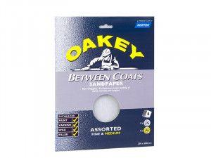 Oakey, Between Coats Sheets 230 x 280mm