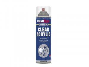 Plasti-kote Industrial Spray Clear Acrylic 500ml