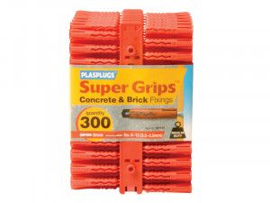 Plasplugs, Solid Wall Super Grips™ Fixings
