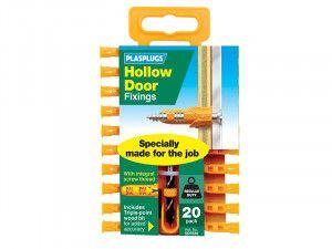 Plasplugs, Hollow Door Fixings