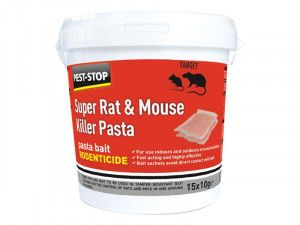 Pest-Stop Systems Super Rat & Mouse Killer Pasta Bait