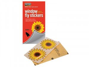Pest-Stop Systems Window Fly Stickers Pack of 4