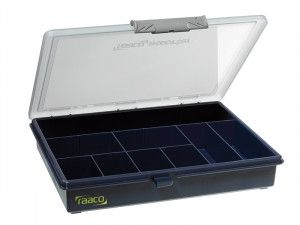 Raaco A5 Profi Service Case Assorter 9 Fixed Compartments