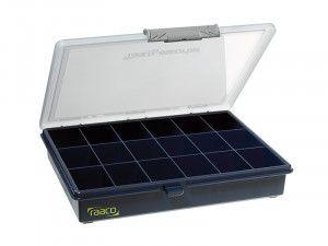 Raaco A5 Profi Service Case Assorter 18 Fixed Compartments
