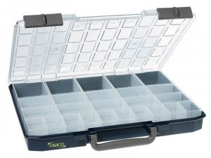 Raaco CarryLite Organiser Case 55 5x10-25/2 25 Inserts