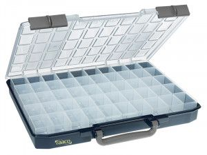 Raaco CarryLite Organiser Case 55 5x10-50 50 Inserts