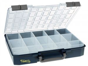 Raaco CarryLite Organiser Case 80 5x10-15 15 Inserts