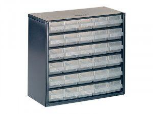 Raaco 624-01 Metal Cabinet 24 Drawer