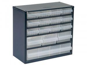 Raaco 616-123 Metal Cabinet 16 Drawer