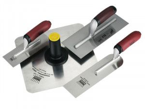 Ragni RP1027 Plasterers Trowel & Hawk Set of 4