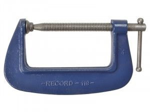 IRWIN Record, G Clamps - 119 Medium-Duty Forged