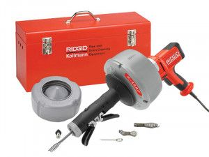 RIDGID K45-AF5 Drain Cleaning Gun with All Tooling 37343