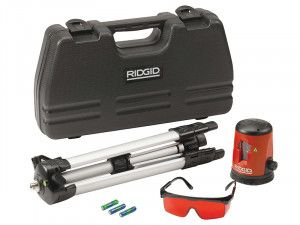 RIDGID CL-100 Micro Self-Levelling Cross Line Laser 38758