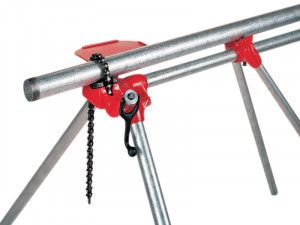 RIDGID 560 Top Screw Stand Chain Vice 3-125mm Capacity 40165