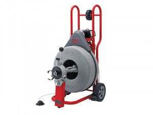 RIDGID K-750 AUTOFEED® Drum Machine with C-100 Inner Core Cable 44157