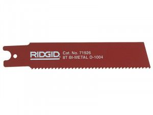 RIDGID, Reciprocating Saw Blade For Heavy Wall Steel Pipe